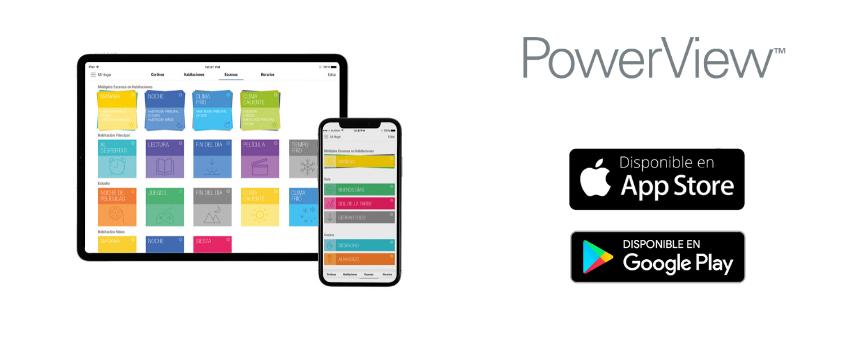 Descarga la app PowerView™