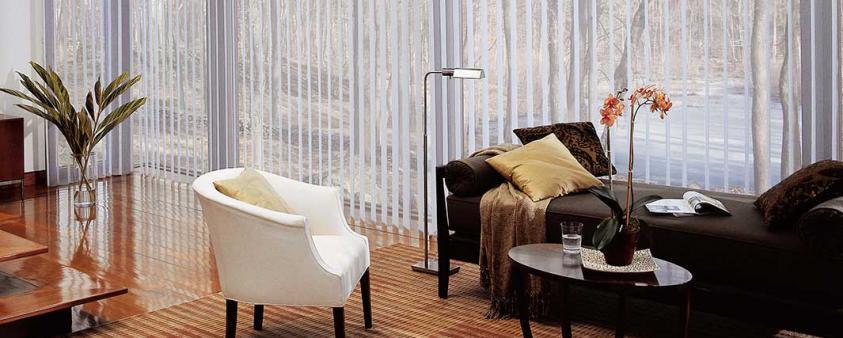 Cortinas para sala de estar y otros ambientes
